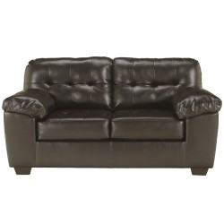 Glamour Loveseat in Chocolate DuraBlend