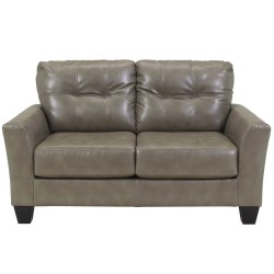 Benchcraft Shine Loveseat in Quarry DuraBlend