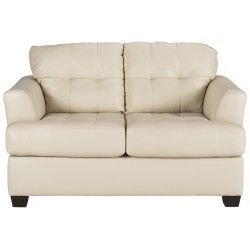 Illuminate Loveseat in Ivory DuraBlend