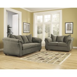 Eliana Living Room Set in Sage Fabric