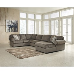 Vanessa Sectional in Dune Fabric