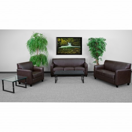 Able Collection Reception Set in Brown