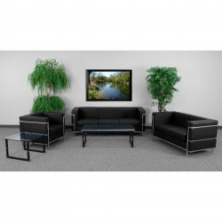 Pristine Collection Reception Set in Black