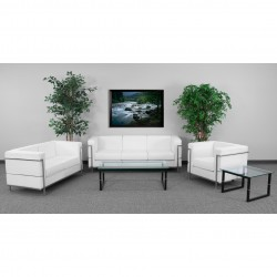 Pristine Collection Reception Set in White