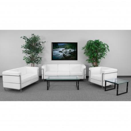 Pristine Collection Reception Set in White