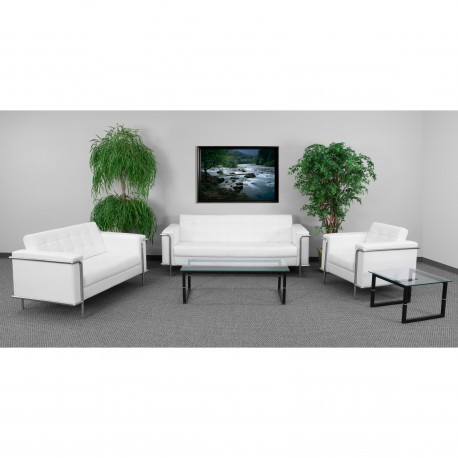 Sophia Collection Reception Set in White