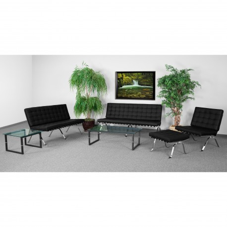 Friendly Collection Reception Set in Black