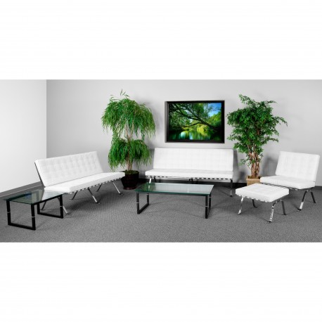 Friendly Collection Reception Set in White