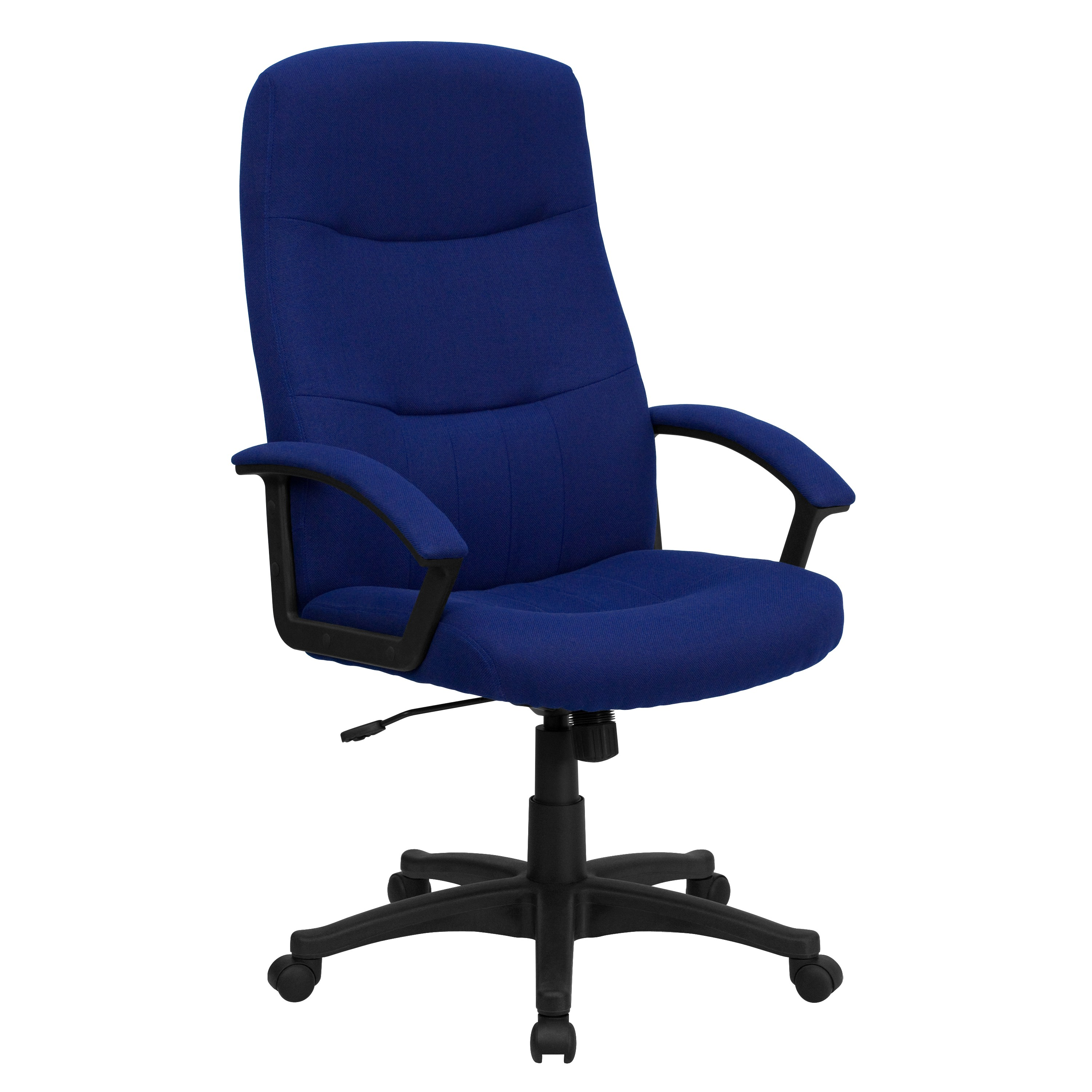High Back Navy Blue Fabric Executive Swivel fice Chair