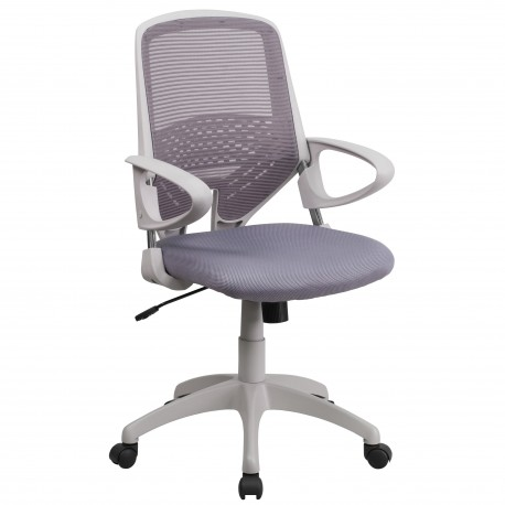 Mid-Back Dark Gray Mesh Office Chair