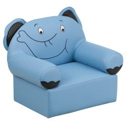 Kids Blue Elephant Chair